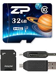 ZP 32Go MicroSD Classe 10 80 Autre Multiple dans un lecteur de carte Micro sd lecteur de carte Lecteur de carte SD ZP-1 USB 2.0