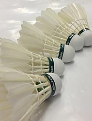 Badminton BälleGänsefeder) -Geringe Windlast Hochfest Hochelastisch Dauerhaft
