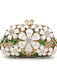 Women Metal Formal / Event/Party / Wedding Evening Bag/The Crystal Hand Bag Diamonds Clutch Gem Purse