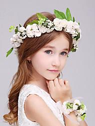 Mulheres Espuma Capacete-Casamento Ocasião Especial Flores 1 Peça