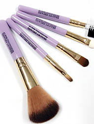 Makeup Brushes Set Synthetic Hair Professional Full Coverage 5Pcs