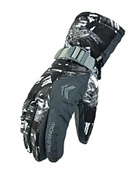 Gants de ski Tous Gants sport Garder au chaud Ski Hiver Gris Fuchsia