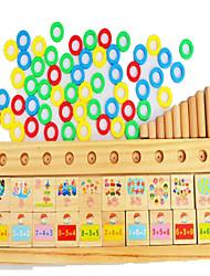 Конструкторы Обучающая игрушка Игрушечные счеты Хобби и досуг Квадратная Дерево Радужный Для мальчиков Для девочек