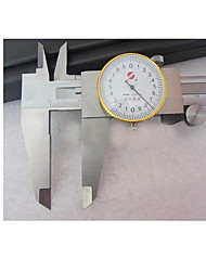 precisão 0-300mm ferramenta de medição do nível de pinças instrumento 0,02 marcação