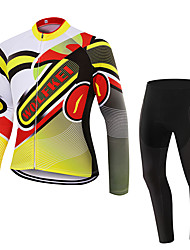 WOLFKEI Winter Thermal fleece Long Sleeve Cycling JerseyLong Tights Ropa Ciclismo Cycling Clothing Suits #WK88