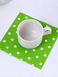 Plastic Wedding Napkins-1 Piece/Set Beverage Napkins Luncheon Napkins Dinner Napkins