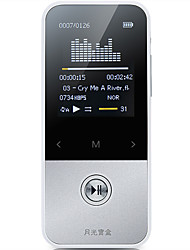 Aigo MP3 MP3 / WMA / WAV / FLAC / APE Rechargeable Li-ion Battery
