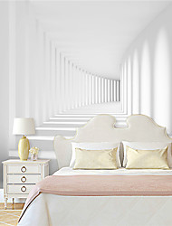 JAMMORY Wallpaper For Home Wall Covering Canvas Adhesive required Mural 3D Pure White Background XL XXL XXXL