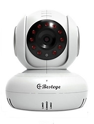 Besteye® Wireless Home Security Camera 720P WIFI IP Security Surveillance Camera Night Vision Temp Sensor Baby Camera