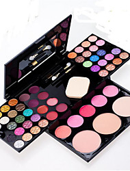 54 Paleta de Sombras Secos Paleta da sombra Creme Normal Maquiagem para o Dia A Dia