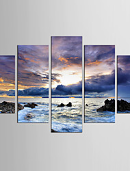 Canvas Set Still Life Abstract Landscape Modern Classic,Five Panels Canvas Any Shape Print Wall Decor For Home Decoration