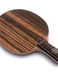 Table Tennis Rackets Wood Short Handle Indoor-#