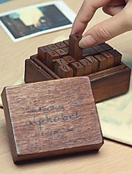 букв нижнего регистра шаблон старинные марки комплект (28 шт / комплект)