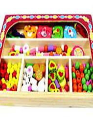 Alivia Estresse / Brinquedo Educativo Hobbies de Lazer Brinquedos Novidades Circular / Esfera Madeira Arco-ÍrisPara Meninos / Para