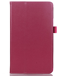 Solid Color PU Leather Case with Sleep for 8.4 Inch Huawei Media Pad M3