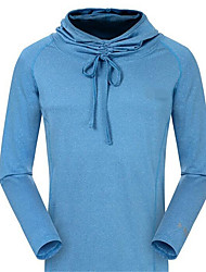 Running Tops Women's / Men's Long Sleeve Breathable / Thermal / Warm / Quick Dry TeryleneExercise & Fitness / Racing / Basketball /