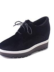 Women's Sneakers Fall Winter Comfort PU Casual Low Heel Other