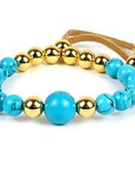 Women's Strand Bracelet Tassel Beaded Gemstone Alloy Jewelry For Casual 1pc