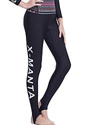 Dive&Sail® Women's Men's Unisex 1mm Dive Skins Wetsuit PantsWaterproof Breathable Thermal / Warm Quick Dry Ultraviolet Resistant Wearable