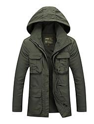 Randonnées Anorak fleece / Polaires Veste Coquille souple Veste Hauts/Tops HommeEtanche Respirable Garder au chaud Séchage rapide