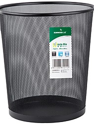 Sunwood®  1211 Wire Mesh Series Medium Basket/Trash  Black