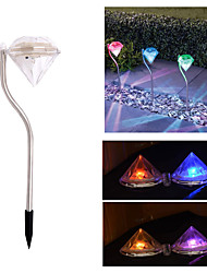 Household Solar Intercalation Lights Solar Mosaic Lights Outdoor Courtyard Night Lights 4 Pieces