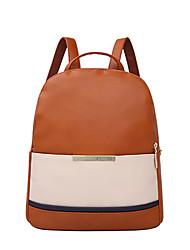 HOWRU® Women 's PU Backpack/Tote Bag/Leisure bag/Travel Bag-Coffee