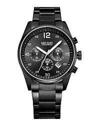 Men's Sport Watch Military Watch Dress Watch Fashion Watch Wrist watch Quartz Digital Calendar Alloy Band Vintage Charm Casual