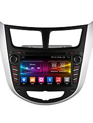 écran hd Ownice 1024 * 600 lecteur multimédia quad core android 6.0 de voiture pour hyundai soutien verna 4g lte avec 2g ram