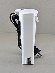 Aquarium Filter Energy Saving Noiseless Plastic 3W 200L/H AC 220-240V