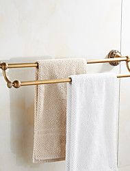 Double Towel Bar Antique Copper Finishing/Towel HolderTowel Rack Bathroom Accessories Set