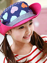 Girl's Fashion Cotton Summer Going out/Casual/Daily Sand Beach Headgear Patchwork  Straw Hat Topee Children Cap