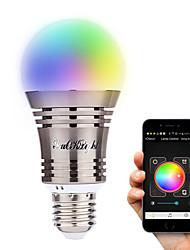 YouOKLight E26/E27 8-LED Wireless Bluetooth Control Smart LED Bulb AC100-240V