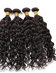 Tissages de cheveux humains Cheveux Vietnamiens Ondulation 12 mois 5 Pièces tissages de cheveux