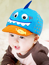Unisex Fashion Cotton Going out/Casual/Daily Boy And Girl Cartoon Shark Baseball Hat Children Peaked Cap All Seasons