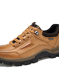 Men's Oxfords Spring Summer Fall Winter Comfort Nappa Leather Outdoor Office & Career Party & Evening Casual Work & Safety Brown