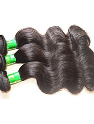 10a original human hair 5bundles 500g lot indian virgin hair extensions weaves indian human hair body wave black color 12inch-28inch