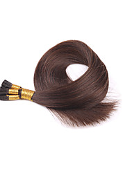 Brazilian Virgin European  Hair Extensions  I Tips Stick  Human Hair Extension Silky Straight Multiple Inch Multiple Color 16-24 Inch 100s/Lot