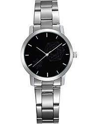 Men's Women's Fashion Watch Quartz Water Resistant/Water Proof Stainless Steel Band Silver Brand