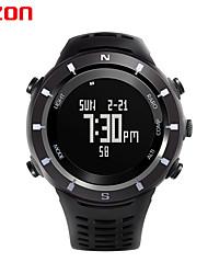 los deportes de los hombres relojes h001c01 EZON reloj digital de múltiples funciones al aire libre relojes de pulsera de escalada