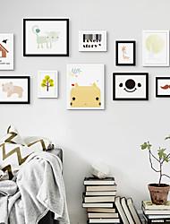 jammory набор творческих бревен из массива дерева фото фоторамки стены европейские фоторамки стены