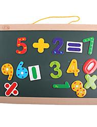 Магнитные игрушки Необычные игрушки Квадратная Дерево Радужный Для мальчиков Для девочек