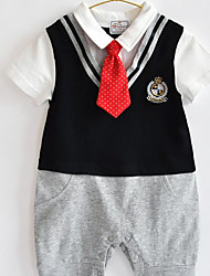 Boy Formal Solid Sets,Rayon Summer Short Sleeve Clothing Set