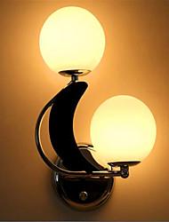 ac 220-240 10 e27 fonction d'argent moderne / contemporain ampoule led inclus, mur de lumière ambiante bougeoirs applique murale