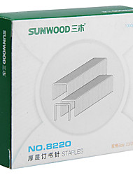 Sunwood®  8220 180 Pages Thick Layer Of Staples/Stitching Needle Size 23/20 1000Pcs / Box