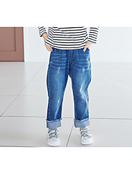 Unisex Casual/Daily Solid Pants-Rayon Winter Spring Fall