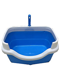 Cat Cleaning Baths Pet Grooming Supplies Portable Blue Plastic