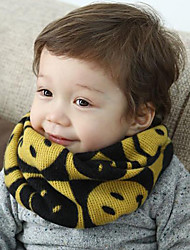 Unisex Knitting Winter Going out/Casual/Daily Boy And Girl Warmth Smile Faces Neckerchief Children Scarf Neck Gaiter