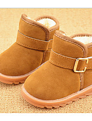 Boy's Boots Winter Other Fur Outdoor Casual Flat Heel Other