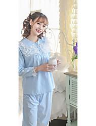 Women Firm Non-woven Cotton Cotton Modal Pajama